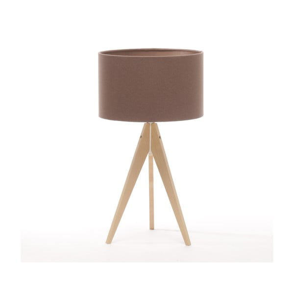 Lampa stołowa Artist Dark Taupe/Natural