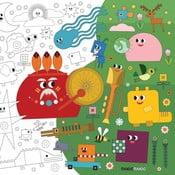 Kolorowanka Creative Gifts Przygoda w wielkim świecie