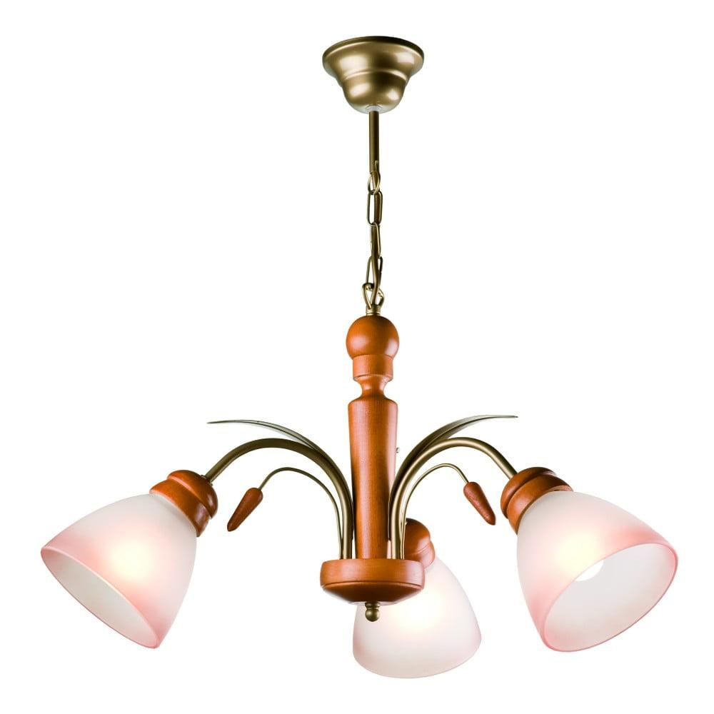 Lampa wisząca na 3 żarówki Lamkur Tulipan