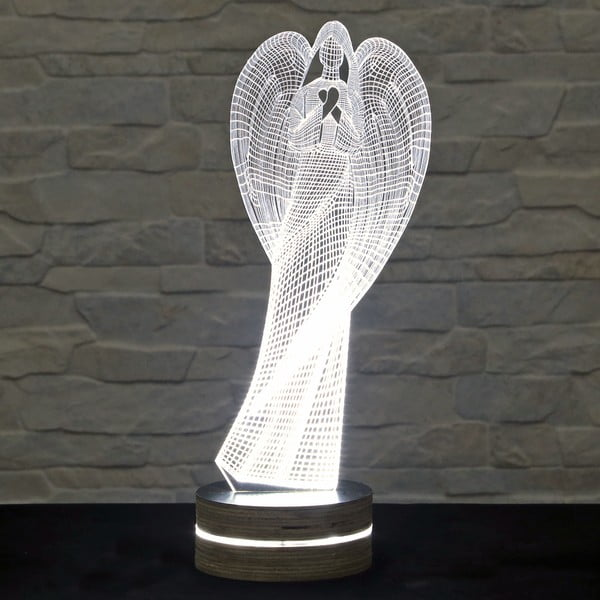 Lampa 3D stołowa Angel