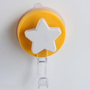 Żółty haczyk z przyssawką ZOSO Star