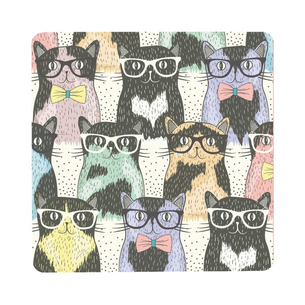 Stolik Cats In Glasses