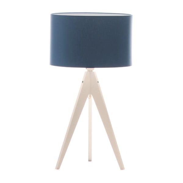 Lampa stołowa Artist Dark Blue/White, 40x33 cm