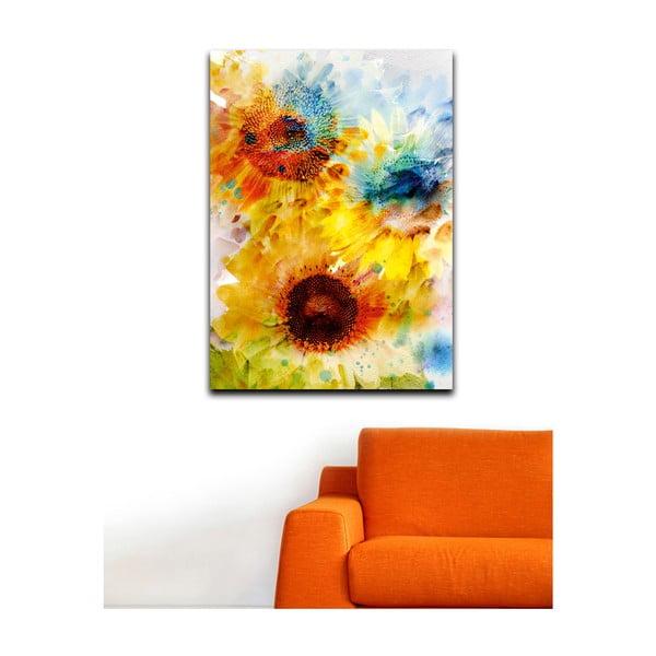 Obraz Kwiaty, 100x70 cm