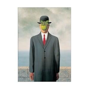 Obraz René Magritte - Syn człowieczy, 50x70 cm