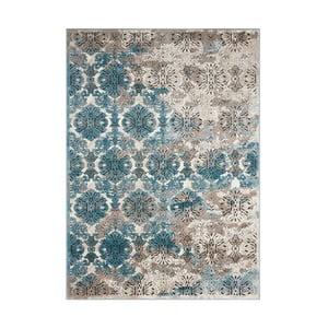 Dywan Nourison Karma Ivory Blue, 175x114cm