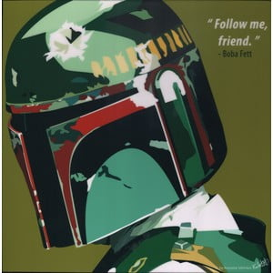 "Obraz ""Boba Fett - follow me my friend"""