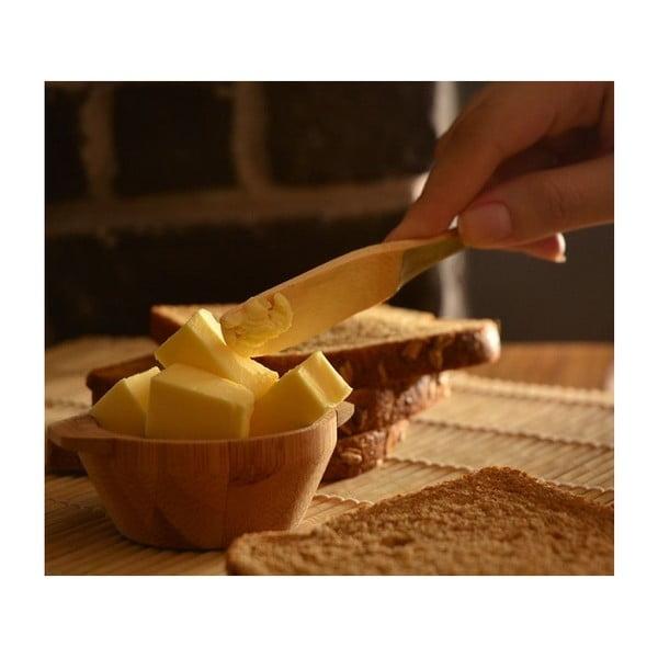 Bambusowe noże do masła Bambum Forre, 6 szt.