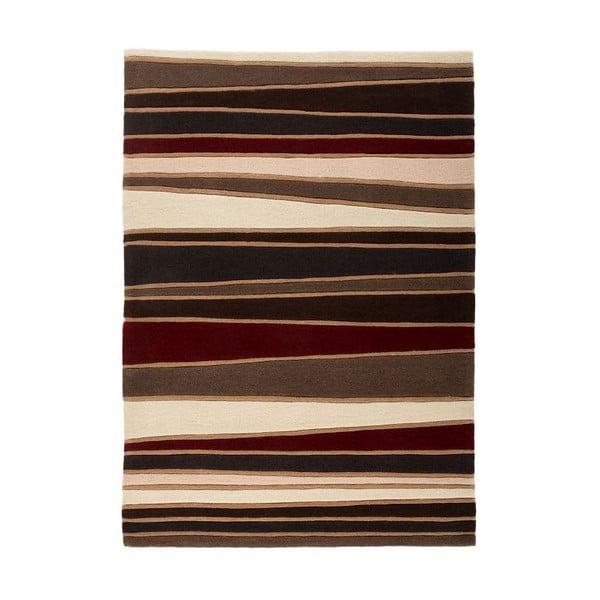 Dywan Flair Rugs Streak Brown/Red, 120x170 cm