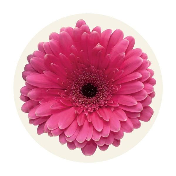 Naklejki Flower, pink, 4 szt