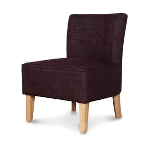 Bordowy fotel Opjet Vintage