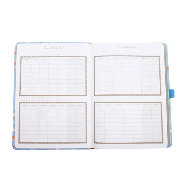 Kalendarz szkolny Academic Blue na rok 2016/2017
