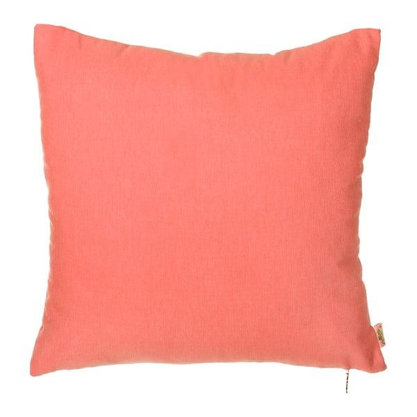 Poszewka na poduszkę Denise 40x40 cm, koralowa