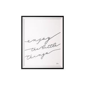 Plakat Enjoy, 40x50 cm