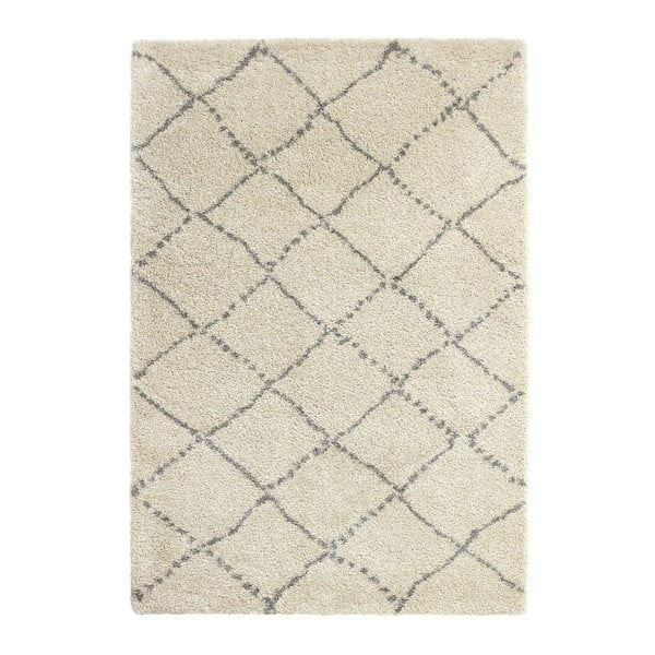 Szaro-kremowy dywan Think Rugs Royal Nomadic Cream & Grey, 120x170 cm