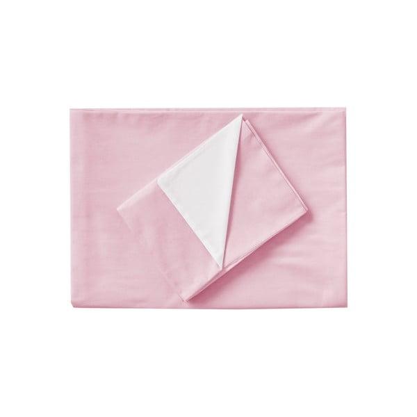 Różowa pościel Hawke&Thorn Parker Simple, 150x200 cm + poduszka 50x60 cm