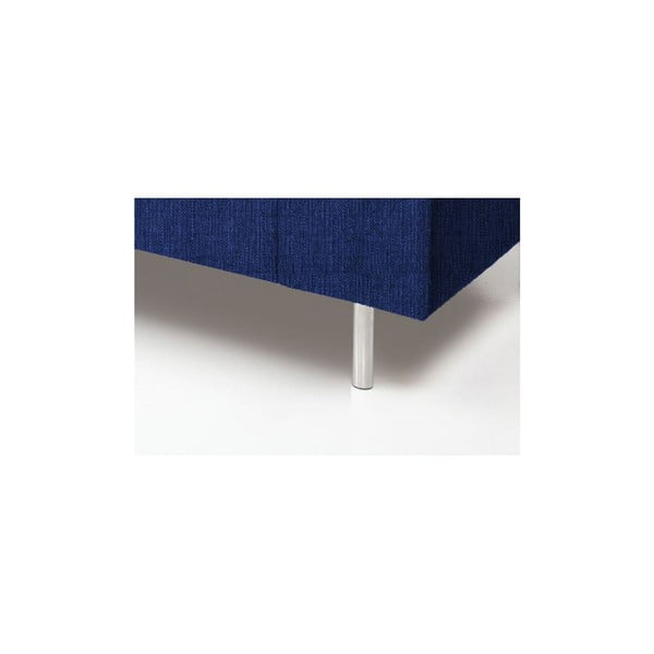 Niebieski fotel VIVONITA Nathan
