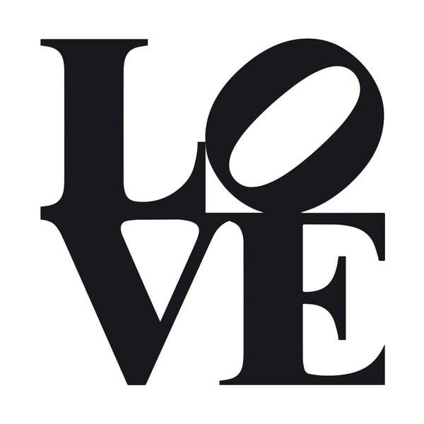 Naklejka ścienna Love