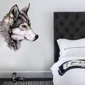 Naklejka ścienna Wolf, 70x50 cm