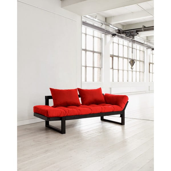 Sofa Karup Edge Black/Red
