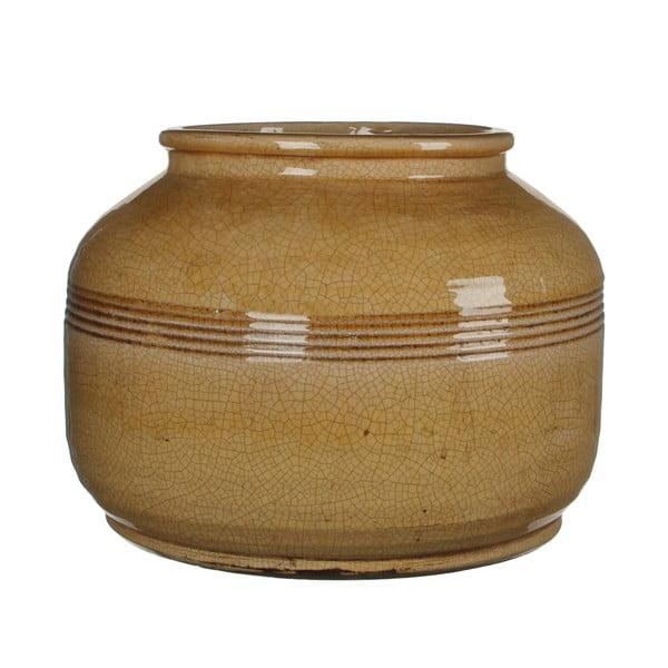 Wazon ceramiczny Abbey Ochre, 27x38 cm