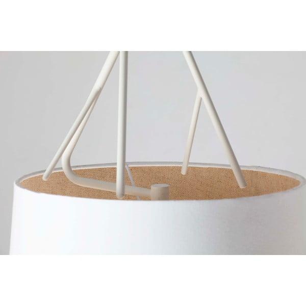 Lampa sufitowa wisząca Sospensione Bianco