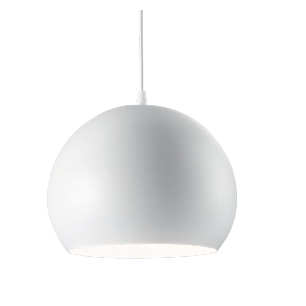Biała lampa wisząca Evergreen Lights Globe