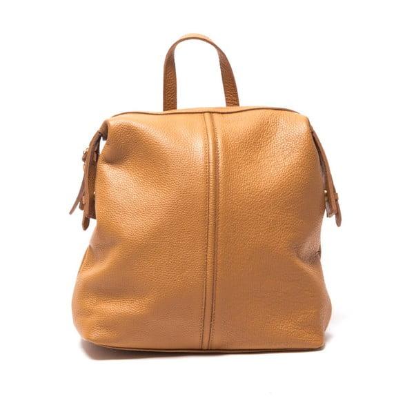 Skórzany plecaczek Sofia Cardoni 1148 Cognac