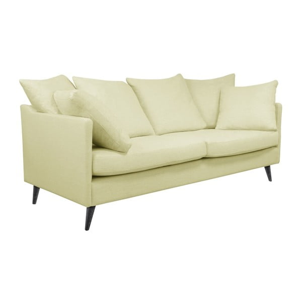 Kremowa sofa 3-osobowa Helga Interiors Victoria