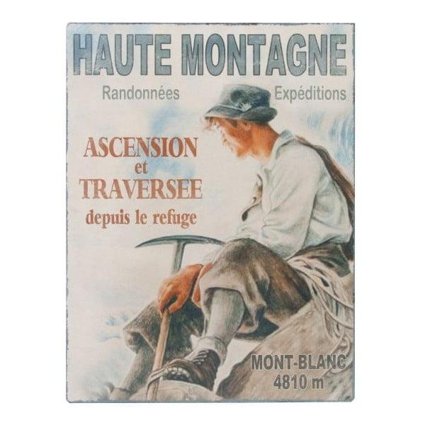 Tabliczka  Antic Line Haute Montagne,25x33cm