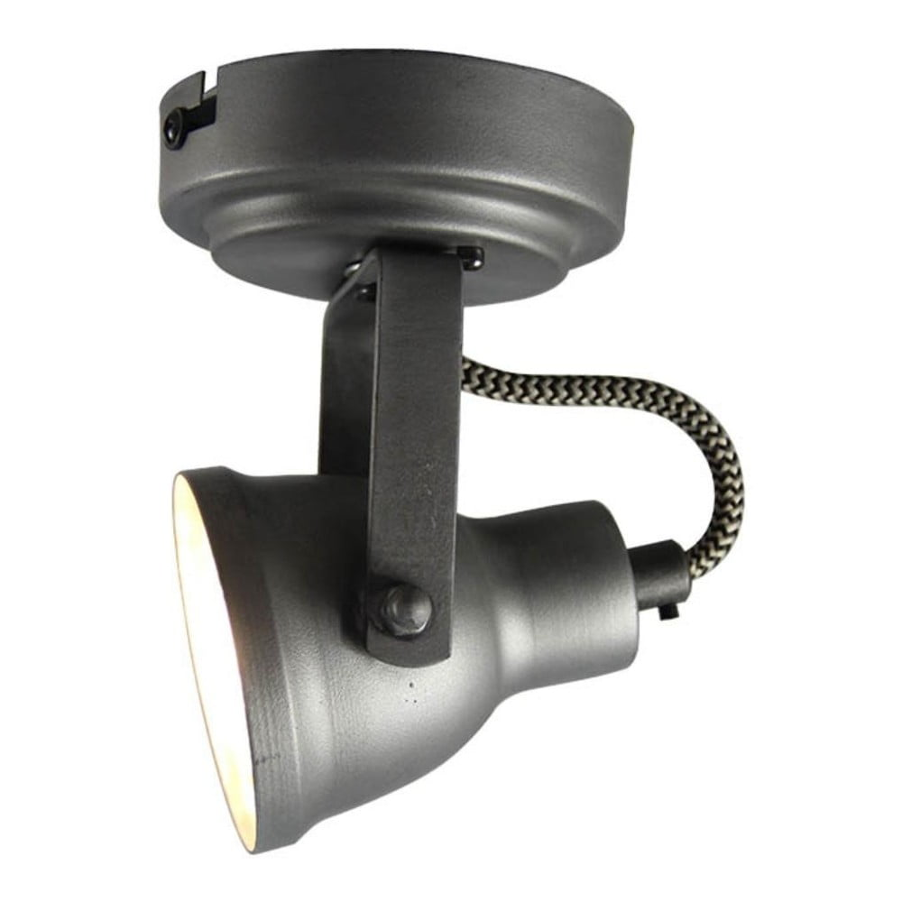 Szara lampa sufitowa LABEL51 Spot Max Uno