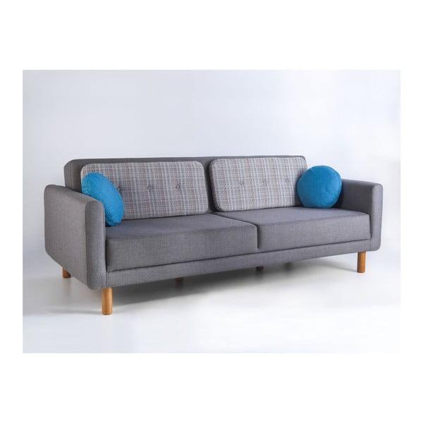 Rozkładana sofa Bubi Grey