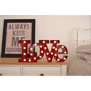 Światło dekoracyjne Carnival Love, czerwone