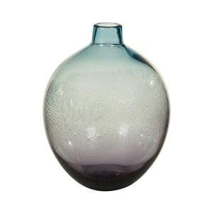 Niebieski wazon kryształowy Santiago Pons Ryde, Ø22cm