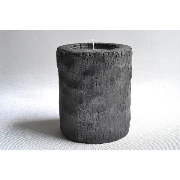 Palmowa świeczka Legno Dark o zapachu lilii wodnej, 120 godzin palenia