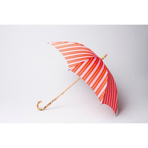 Parasol Stripe, pomarańczowo-różowy