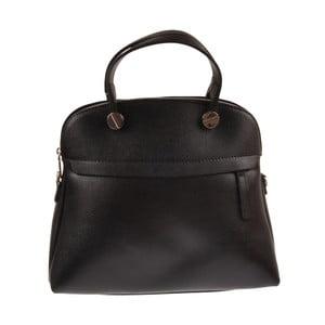 Skórzana torebka Yutz, czarna