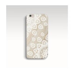 Etui na telefon Wood Mandala White na iPhone 6/6S