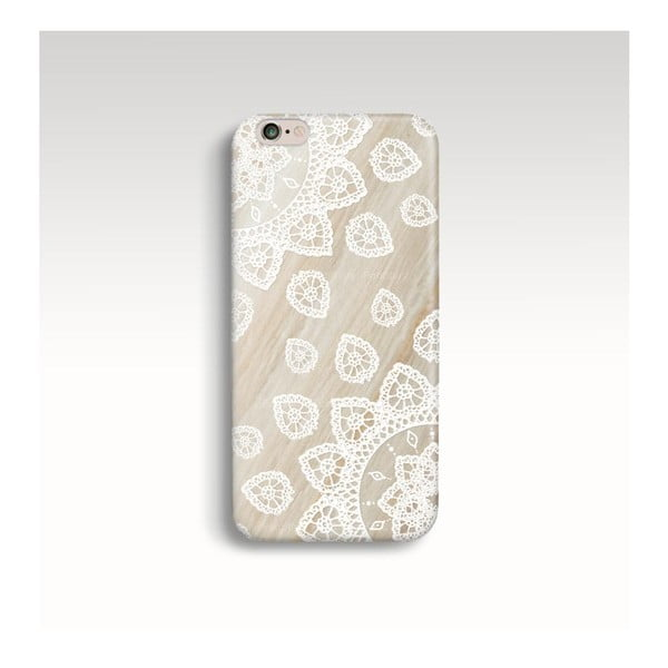 Etui na telefon Wood Mandala White na iPhone 6+/6S+