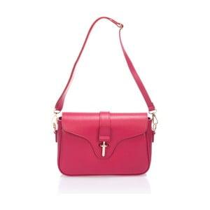Różowa torebka skórzana Markese Tulisa