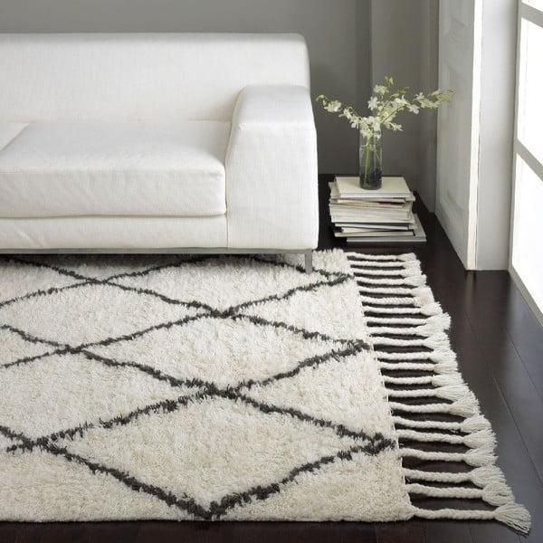 Wełniany dywan Zigio Natural, 160x228 cm