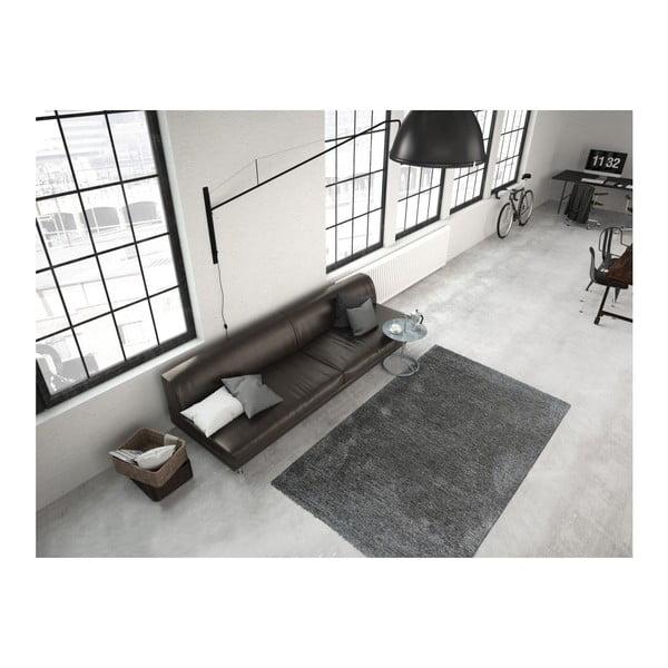 Ciemnoszary dywan Smoothy, 160x230cm