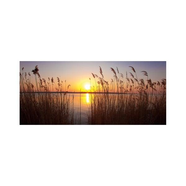 Dekoracyjny panel ścienny Zachód Słońca, 115x50 cm