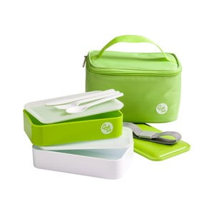 Pojemnik na jedzenie Premier Housewares Cool Bag Green