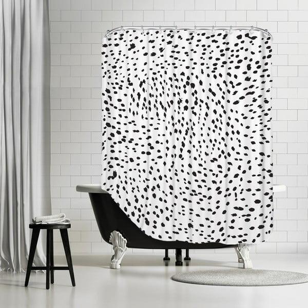 Zasłona prysznicowa Lots Of Spots, 180x180 cm