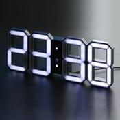 Czarny zegar LED - Vadim Kibardin, 5 m