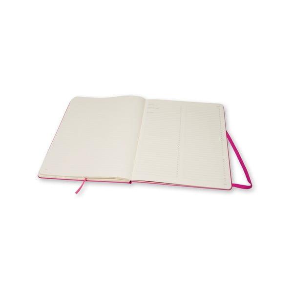Notes Moleskine dla Magenta, bardzo duży