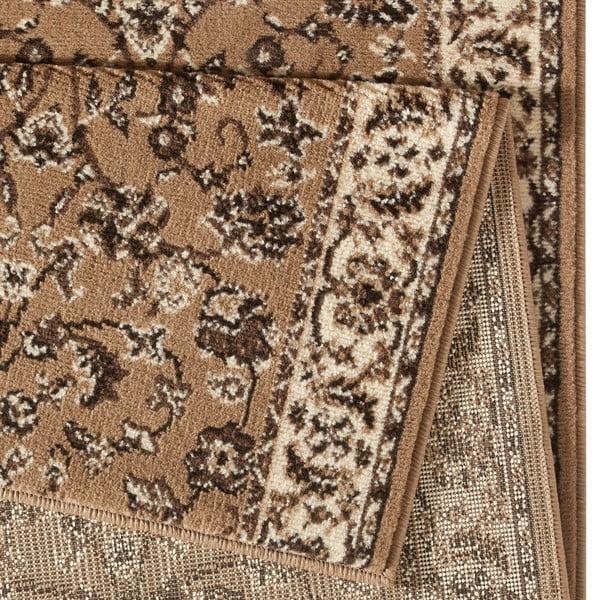 Dywan Basic Vintage, 80x400 cm, jasnobrązowy