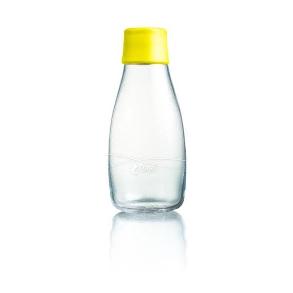 Żółta butelka ze szkła ReTap z dożywotnią gwarancją, 300 ml