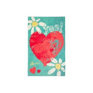 Ręcznik DESIGUAL Heart, 95x150 cm
